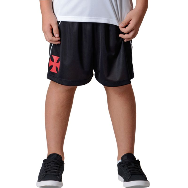 Shorts Bermuda Infantil do Vasco da Gama Caps