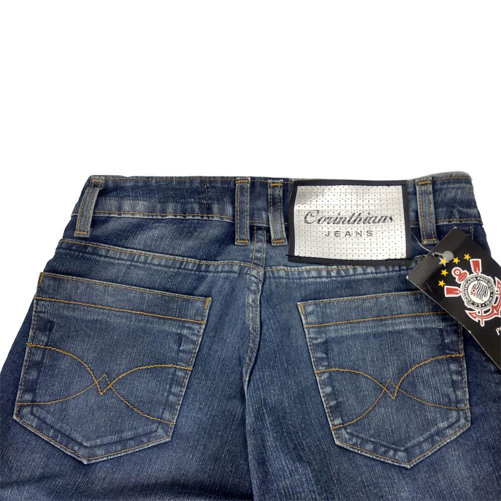 Bermuda Jeans Feminina do Corinthians - 06C