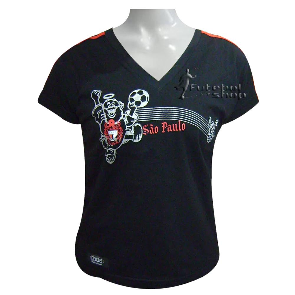 Camiseta Feminina Juvenil Torcida Independente SPFC - 1012