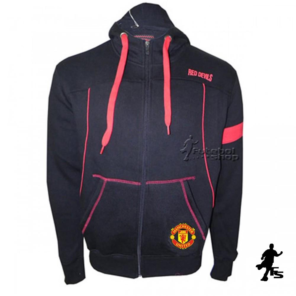 Blusão Com Capuz Moleton Manchester United - 2481224 - FUTEBOL SHOP ... a998c6f313307