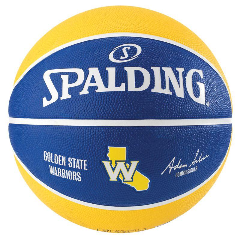 8595f50860 Bola de Basquete Spalding NBA Golden State Warriors - FUTEBOL SHOP ...