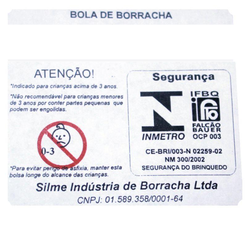 Bola de Borracha Nº3 - Frescobol e Fisioterapia