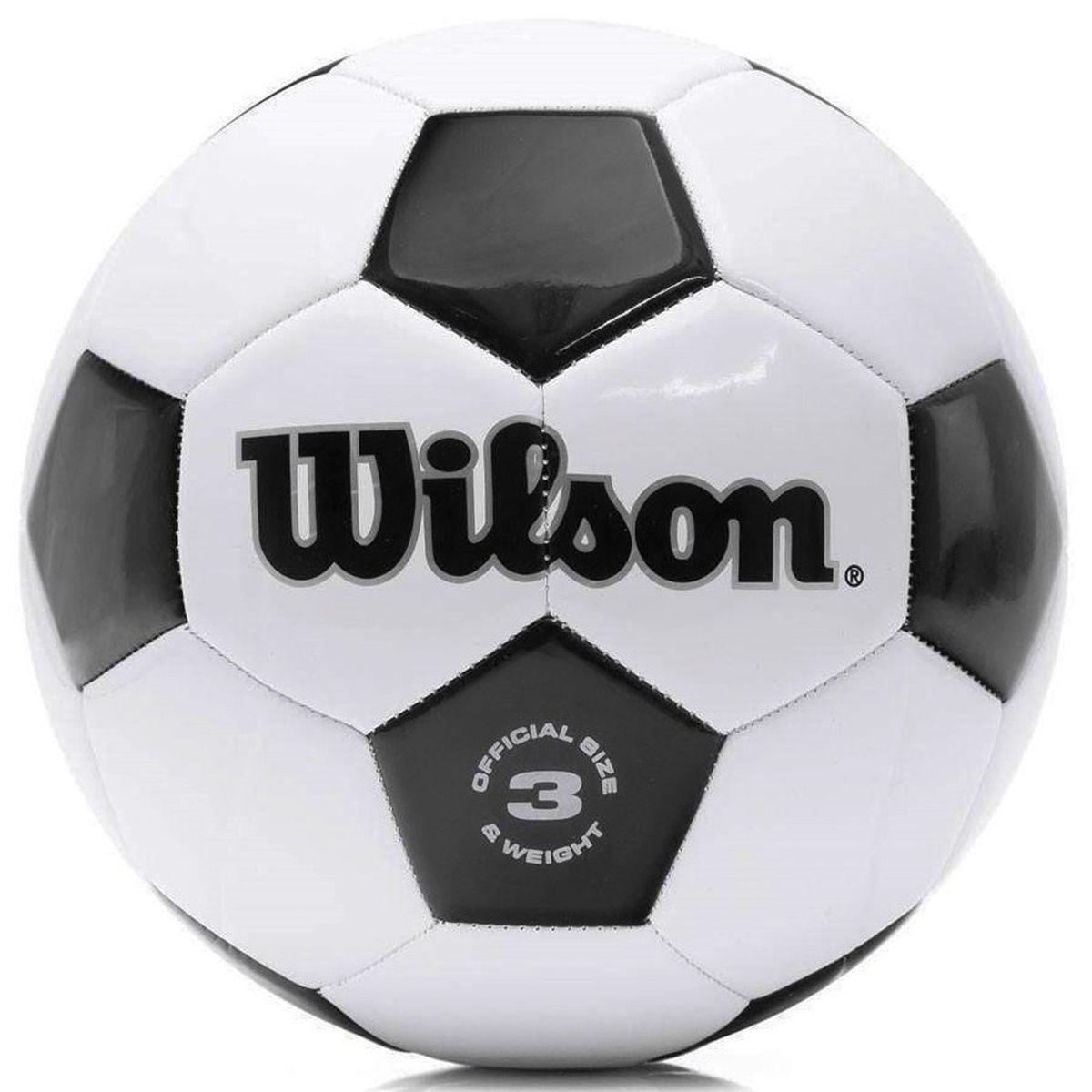 Bola Futebol Wilson Tradicional Número 3 - Pré Mirim