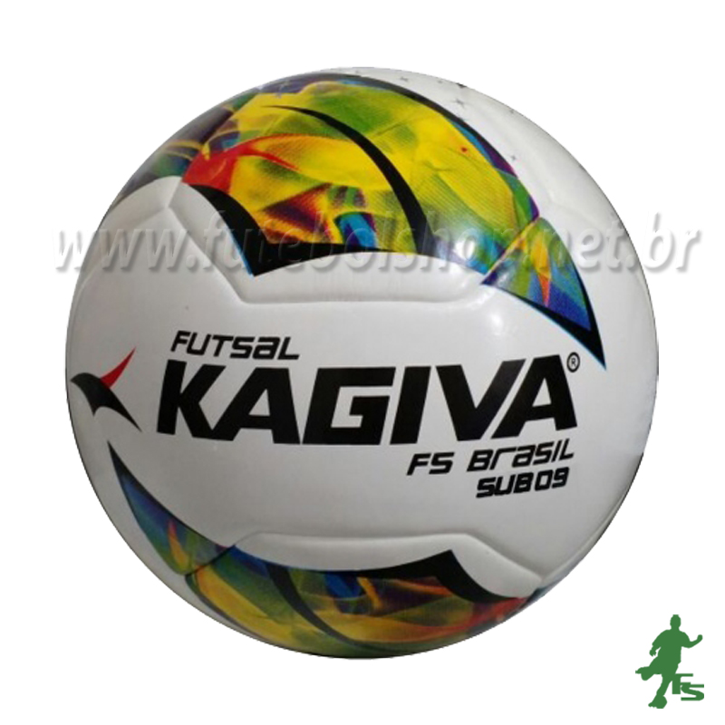 2f794631ad Bola Futsal Kagiva F5 Brasil Sub 9 - FUTEBOL SHOP