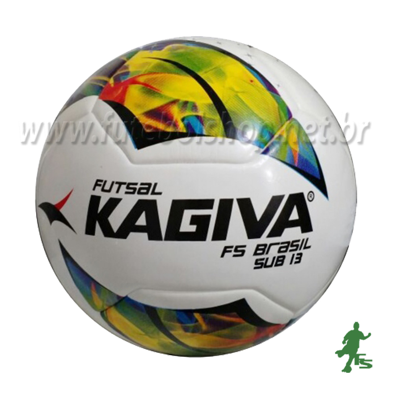 Bola Futsal Kagiva F5 Brasil Sub 13 - FUTEBOL SHOP 57344f878807b