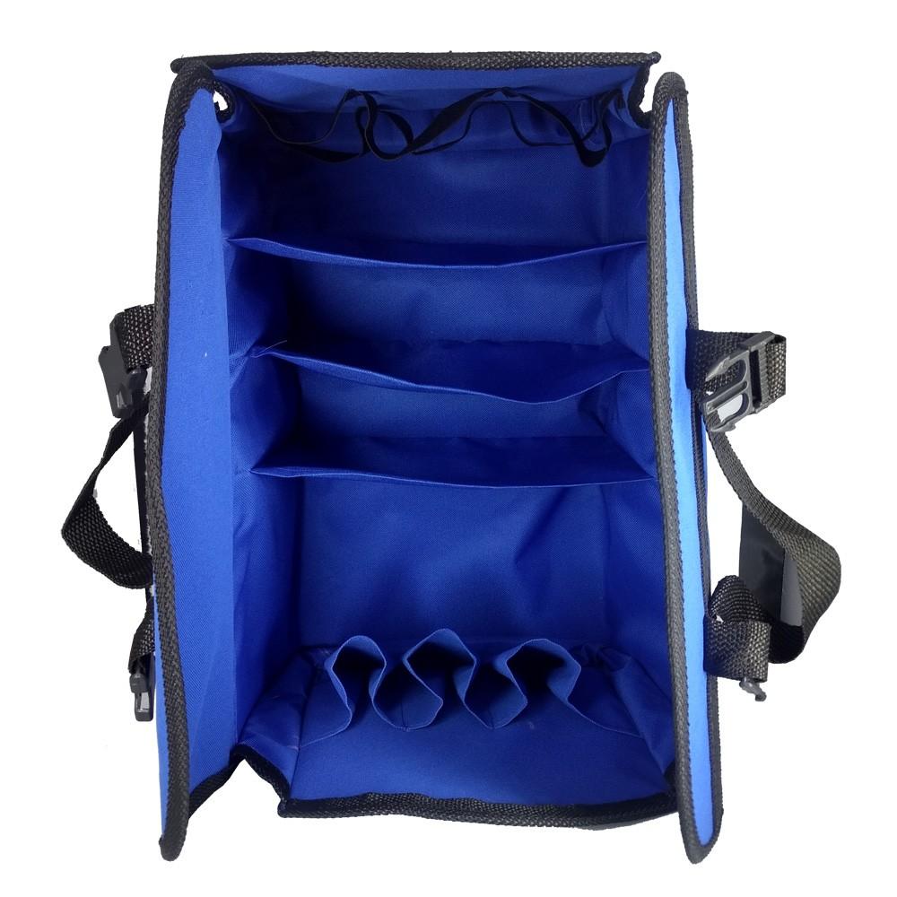 Bolsa Massagista Profissional Azul Lisa