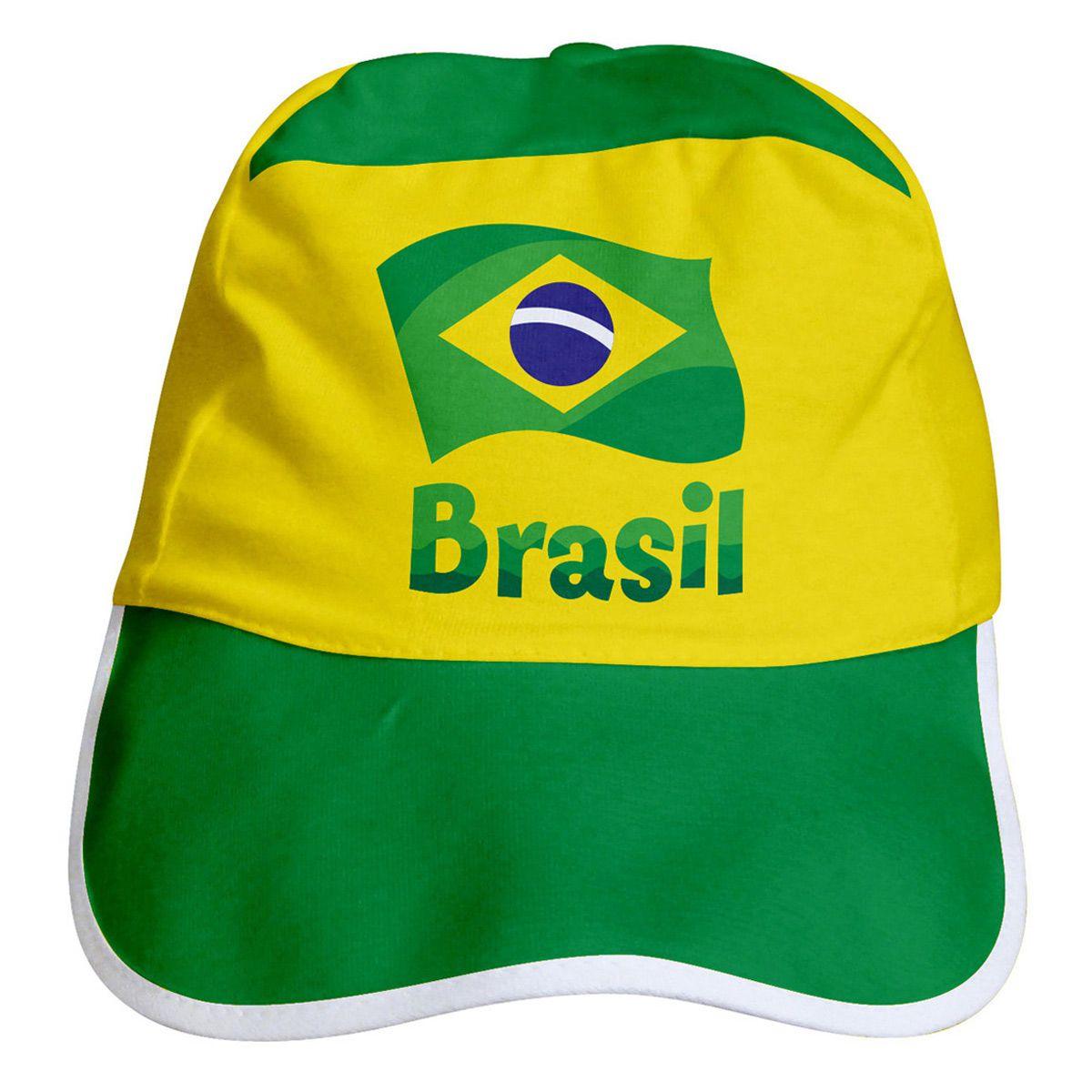 Boné para Bebê do Brasil Torcida Baby - 002A
