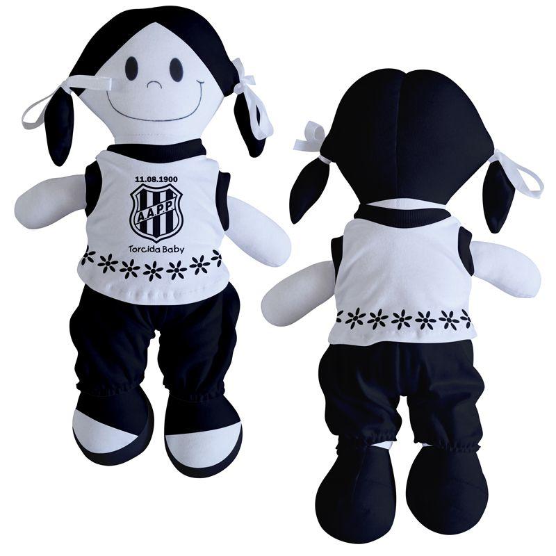 Boneca Mascote da Ponte Preta - Torcida Baby 238B