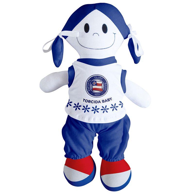 Boneca Mascote do Bahia - Torcida Baby 238B