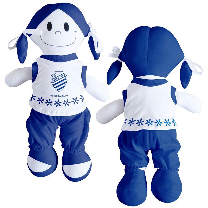 Boneca Mascote do CSA - Torcida Baby 238B