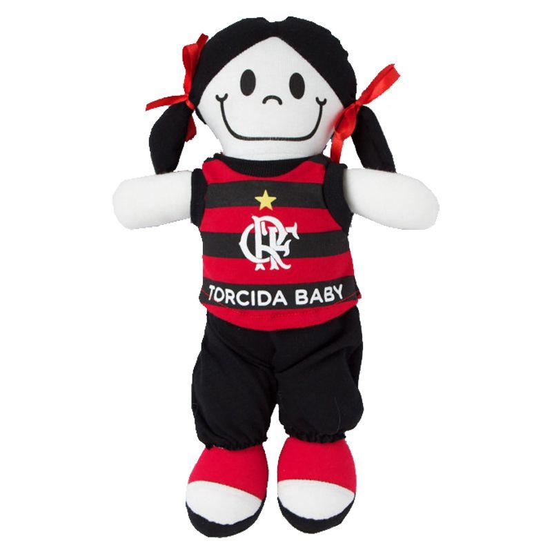 Boneca Mascote do Flamengo - Torcida Baby 238B