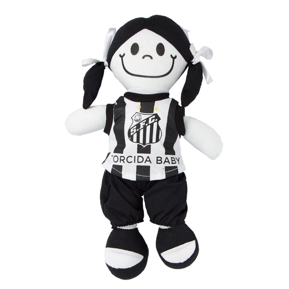 Boneca Mascote do Santos - Torcida Baby 238B