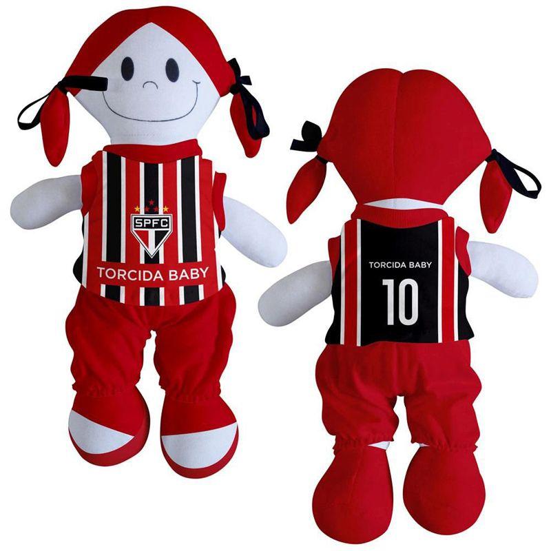 Boneca Mascote do São Paulo - Torcida Baby 238B