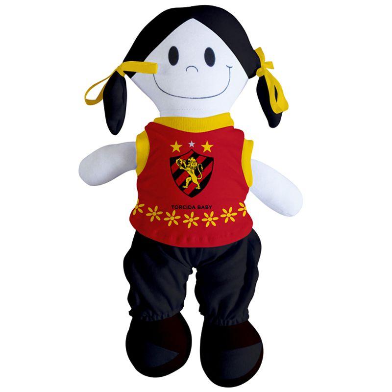 Boneca Mascote do Sport - Torcida Baby 238B