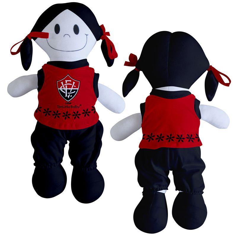 Boneca Mascote do Vitória - Torcida Baby 238B