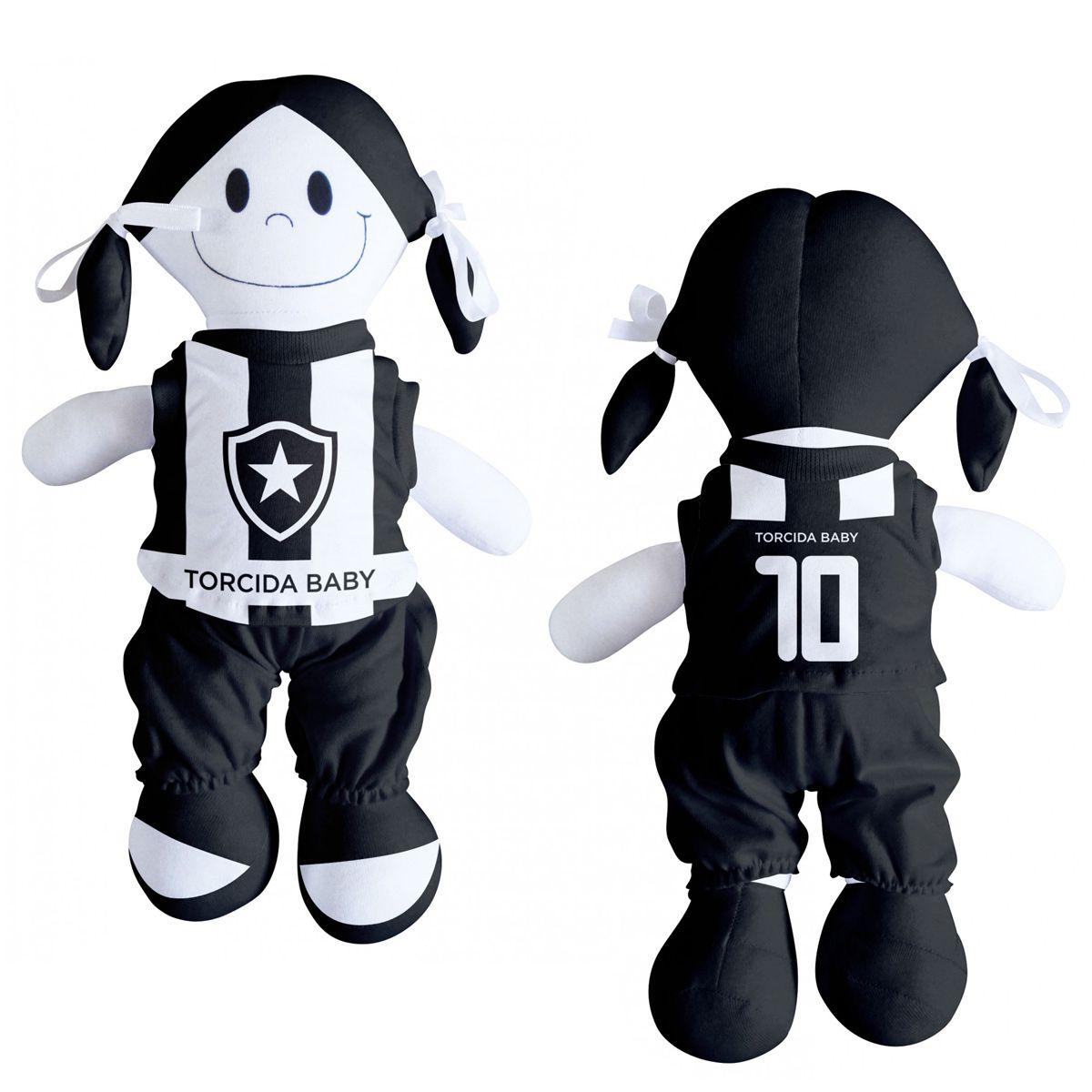 Boneca Mascote do Botafogo - Torcida Baby 238B