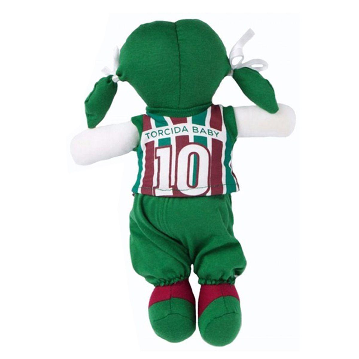 Boneca Mascote do Fluminense - Torcida Baby 238B