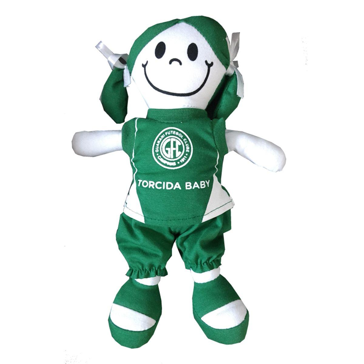Boneca Mascote do Guarani - Torcida Baby 238B
