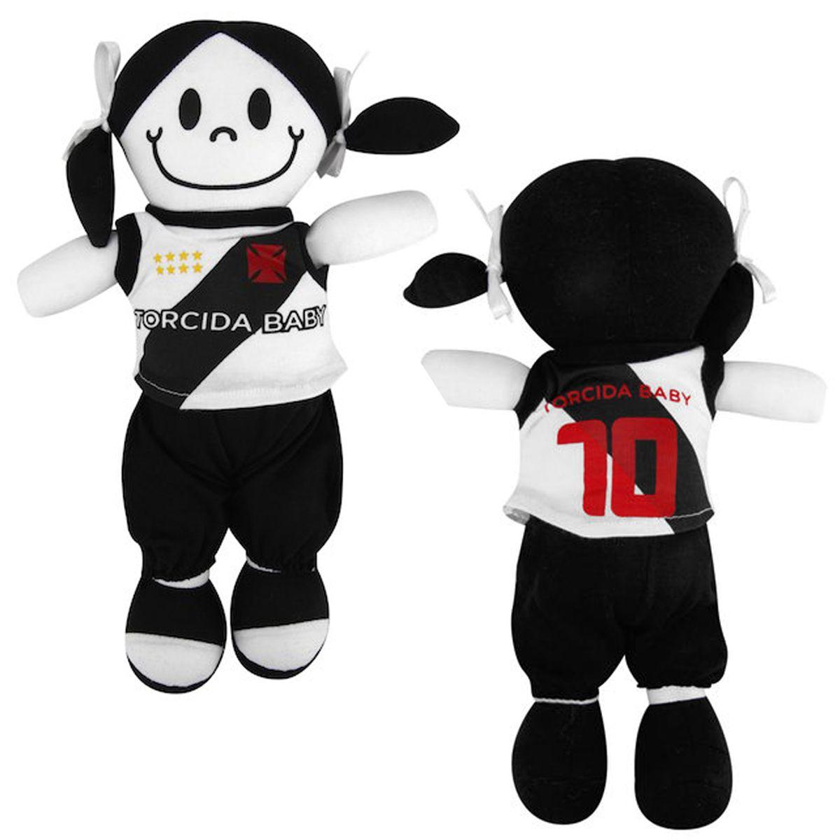Boneca Mascote do Vasco da Gama - Torcida Baby 238B