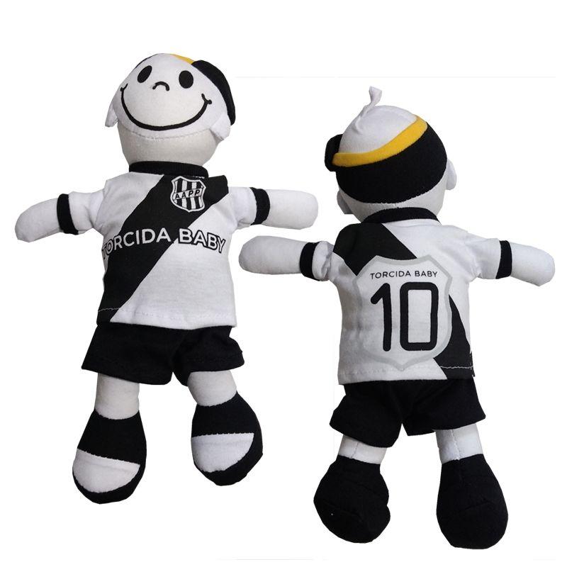 Boneco Mascote da Ponte Preta - Torcida Baby 238A