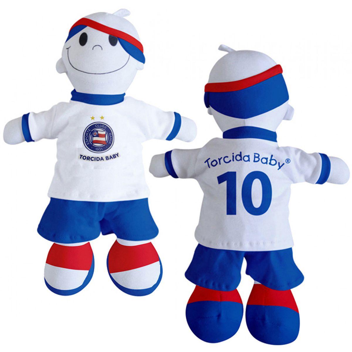 Boneco Mascote do Bahia  - Torcida Baby 238A