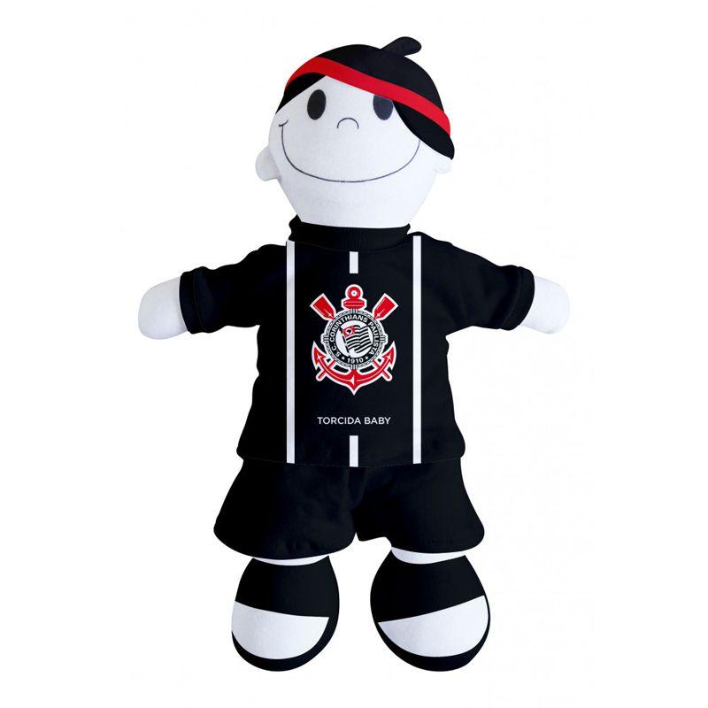 Boneco Mascote do Corinthians - Torcida Baby 238A