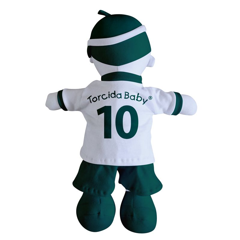 Boneco Mascote do Coritiba - Torcida Baby 238A