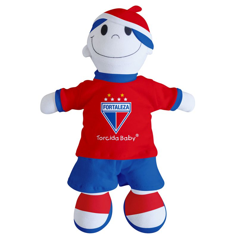 Boneco Mascote do Fortaleza - Torcida Baby 238A