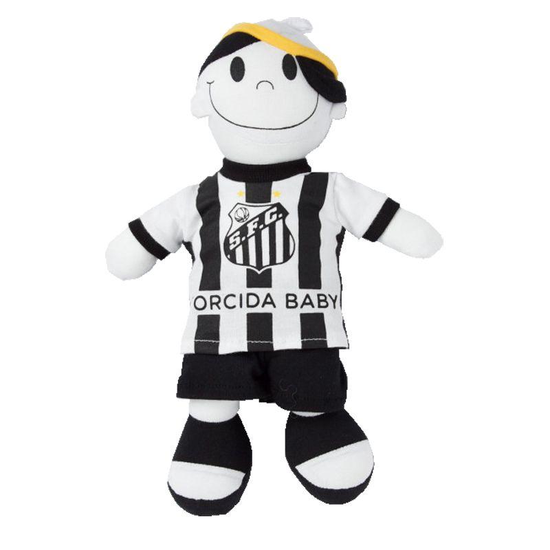 Boneco Mascote do Santos - Torcida Baby 238A