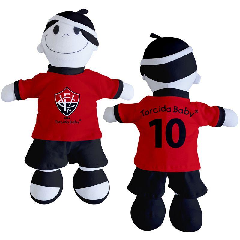 Boneco Mascote do Vitória - Torcida Baby 238A