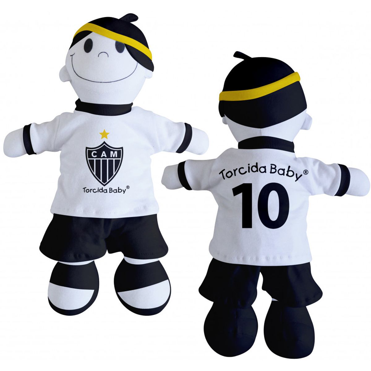 Boneco Mascote do Atlético Mineiro - Torcida Baby 238A