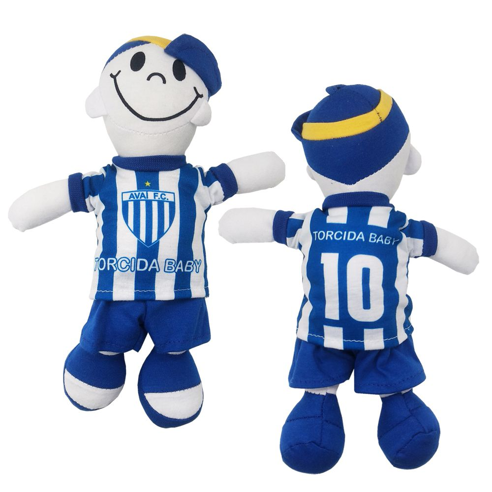 Boneco Mascote do Avaí - Torcida Baby 238A