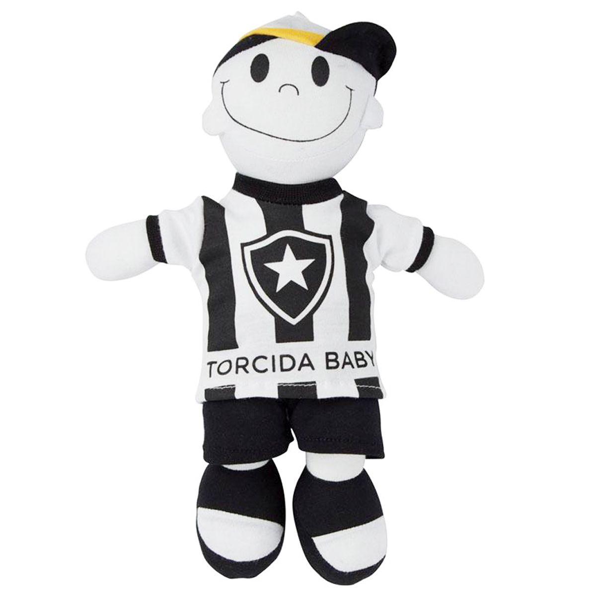 Boneco Mascote do Botafogo - Torcida Baby 238A