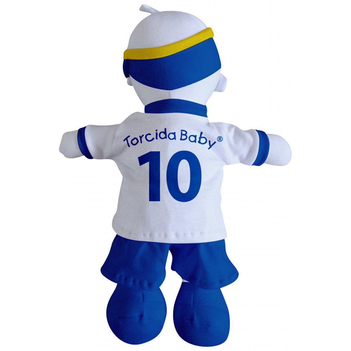 Boneco Mascote do Cruzeiro - Torcida Baby 238A