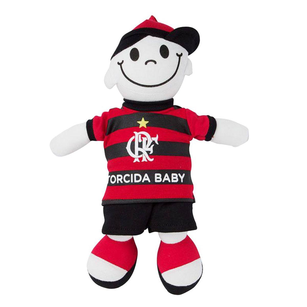 Boneco Mascote do Flamengo - Torcida Baby 238A