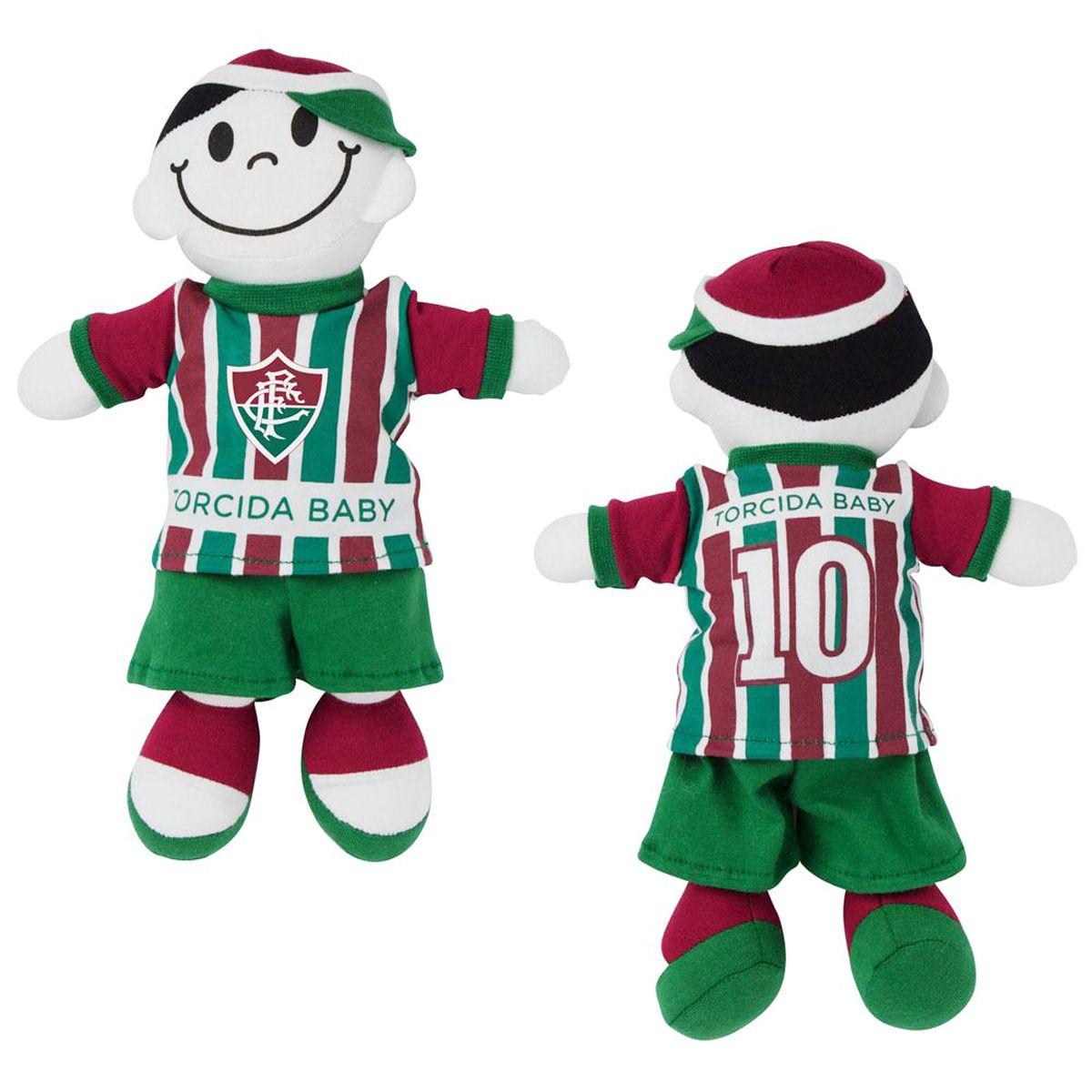 Boneco Mascote do Fluminense - Torcida Baby 238A