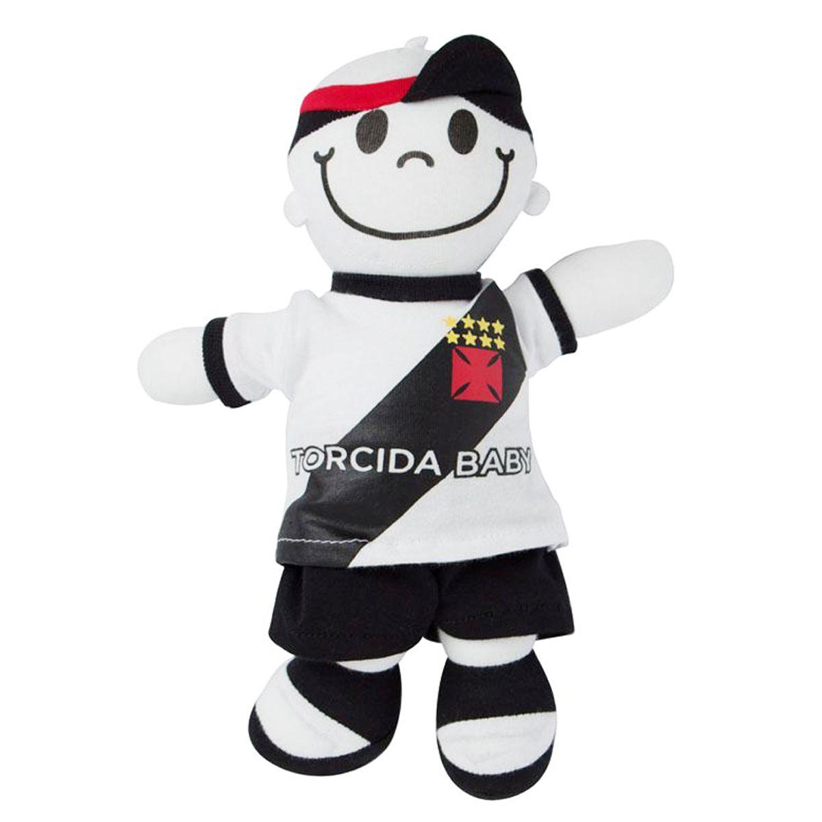 Boneco Mascote do Vasco - Torcida Baby 238A