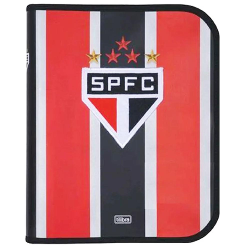 Caderno Argolado Fichário do São Paulo