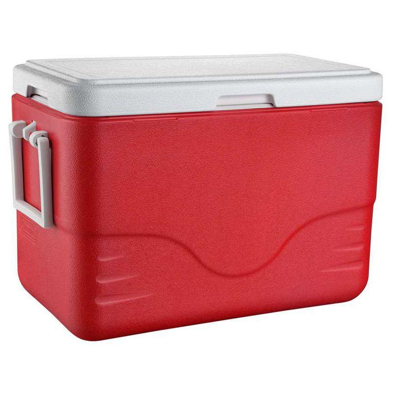 Caixa Térmica Coleman 28 QT (26,5 Litros) Vermelha