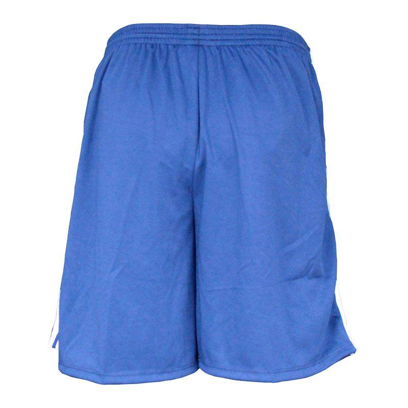 Calção Elite 1052 Tamanhos Especiais Azul Royal/Branco