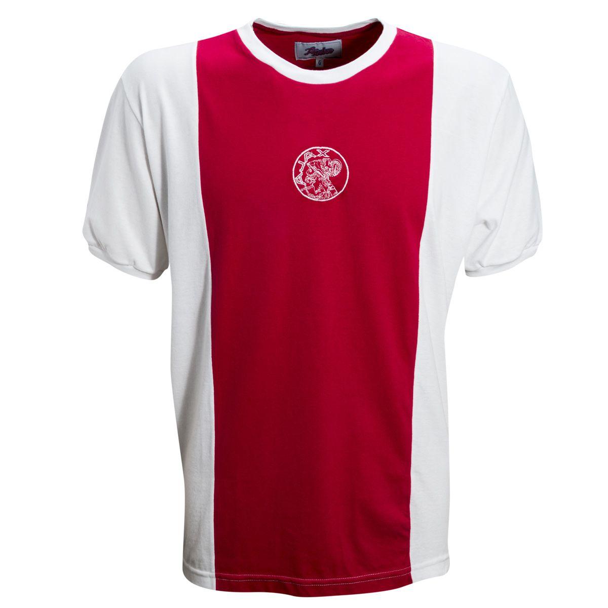 Camisa Ajax 1960's  Liga Retro - LRAJA60