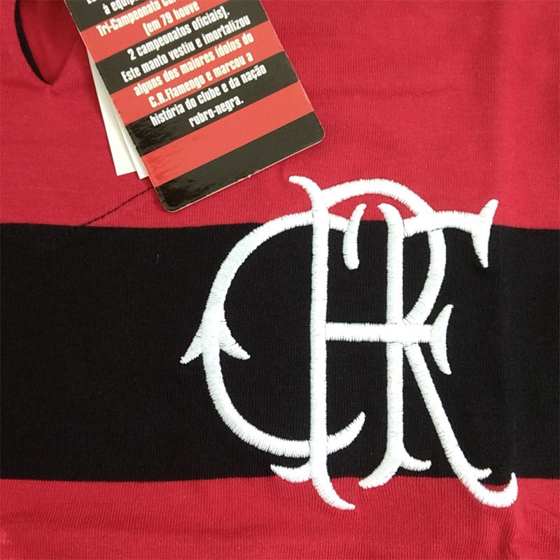 Camisa Comemorativa do Flamengo FlaTri 78/79