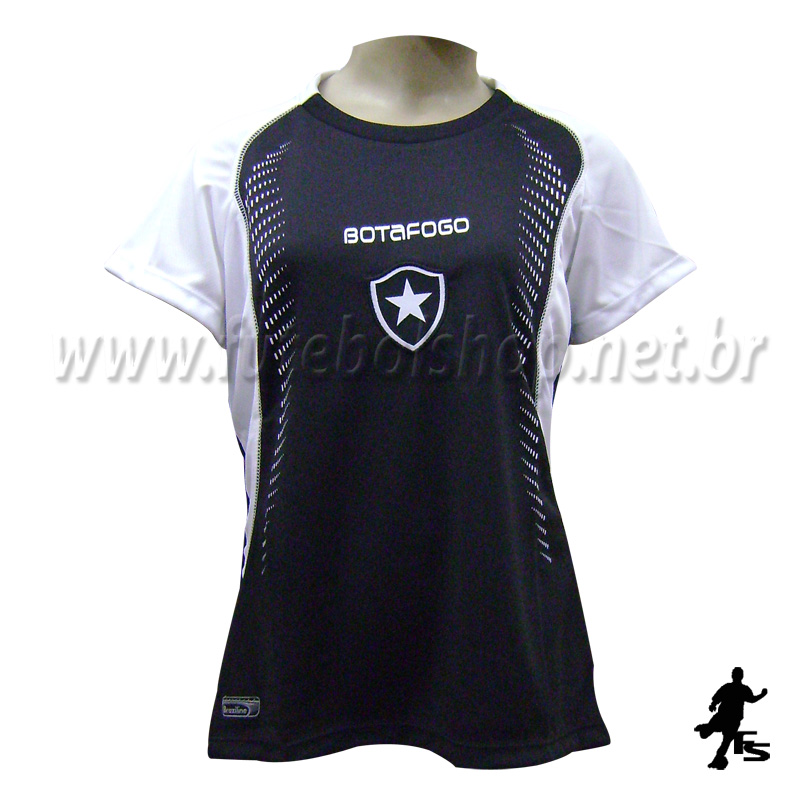70edb5fe4fbbd Camisa do Botafogo Feminina Baby Look - FUTEBOL SHOP