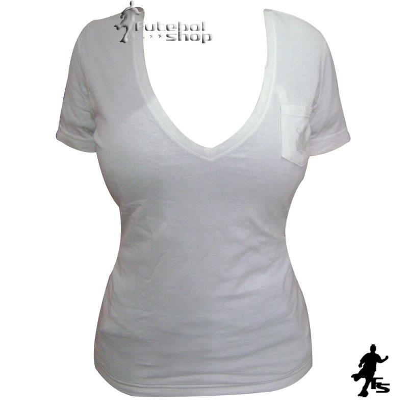 Camisa do Corinthians Decote V Feminina - 419853