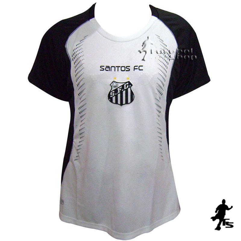 398a8a7a6206c Camisa do Santos Feminina - Trop - FUTEBOL SHOP