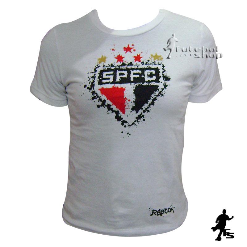 c80be3eea Camisa do São Paulo Feminina - Infantil - SP06058V - FUTEBOL SHOP