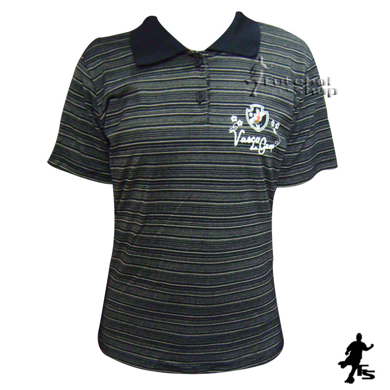 Camisa do Vasco Feminina Braziline - MAG - FUTEBOL SHOP 85ae7d12bb130