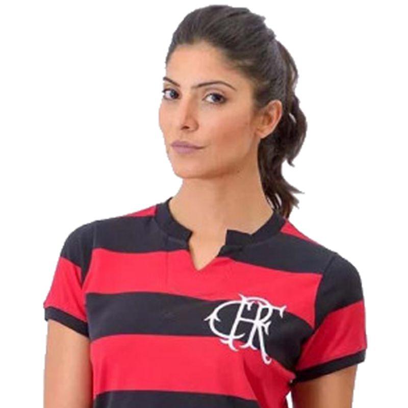 Camisa Feminina Comemorativa do Flamengo FlaTri 78/79