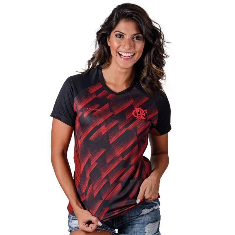 Camisa Feminina do Flamengo Upper Adulto