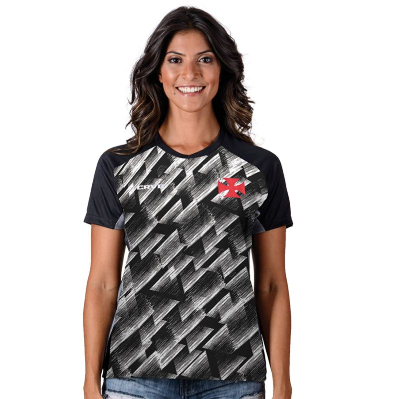 Camisa Feminina do Vasco da Gama Upper Adulto